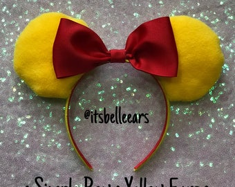 Winnie the Pooh Inspired ∙ Mickey Ears