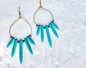 Phoenix Ice Earrings