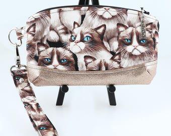 Grumpy Glitter Cats