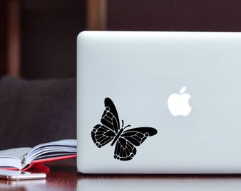 Custom Laptop Decal- Butterfly Laptop Decal- Laptop Decal- Laptop Art- Butterfly Decal