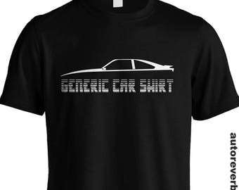 Generic Car Shirt JDM Drift Automotive