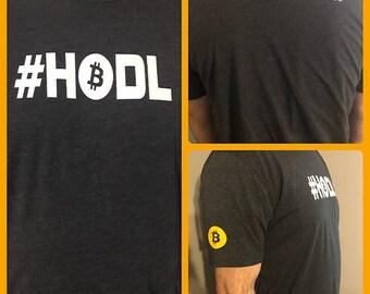 Crypto t-shirt #HODL