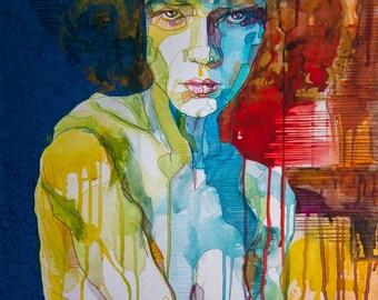 "Limited Edition Fine Art Print ""Tanja""- 30x40cm with Passpartout"