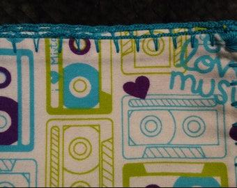 Swaddle Blanket - I Love Music
