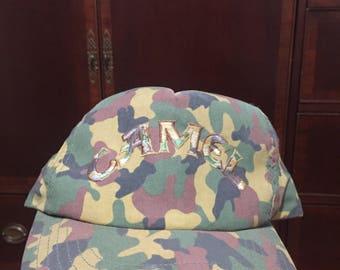 Vintage Camel Camo Hat