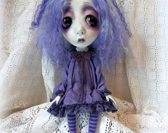 Loopy Southern Gothic Art Doll Victorian Dark Goth Ghostly Lucy