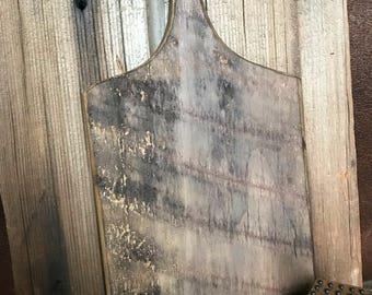 6 Hornboard Horn Board Punchneedle Cross Stitch Rug Hooking Hanger Reclaimed Barn Wood