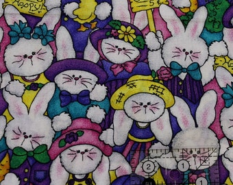 """Hoppy Spring for Jelly bean Junction 100% cotton 42""""-44"""" wide MM Fabrics"""