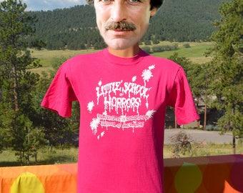 vintage 80s tee LITTLE shop HORRORS university colorado med school medicine t-shirt Medium Small