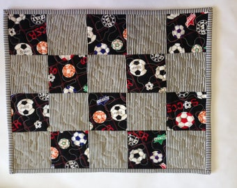 Quilted Kids Placemat / Soccer