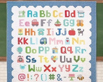 JUST ARRIVED Spelling Bee Book by Lori Holt of Bee in my Bonnet for Its Sew Emma Publishing Alphabet Quilting Book