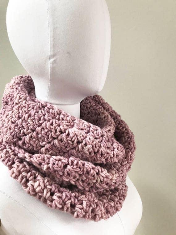 Chunky Merino Wool Infinity Scarf