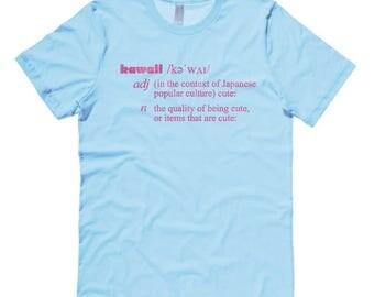 Kawaii definition Shirt cute aesthetic Japanese clothing kawaii t-shirt statement pastel