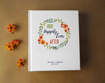 Our Bucket List · Custom First Wedding Anniversary Gift · Our Happily Ever After Personalized Anniversary Journal · Paper Anniversary Gift
