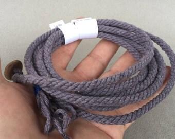 blue cotton wrap bracelet with flat button handmade cordage rope bracelet button bracelet 4137