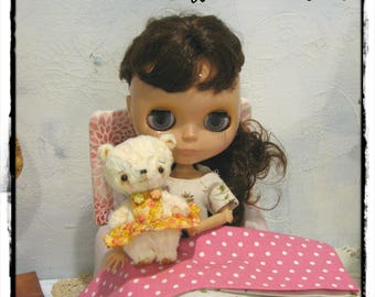 Marigold Bear by Woollybuttbears