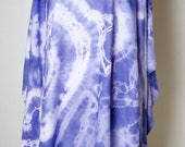 Pastel sorbet Handmade art hand womens dress Indian Meditation Rayon india tie print Top Shirt yoga Tunic plus size 2x xxl xxxl 3x 4x dressy