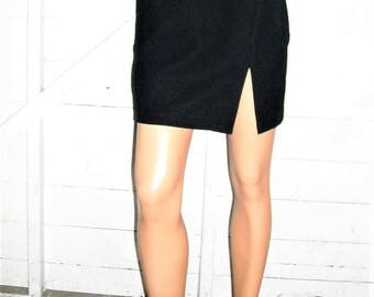 BCBG Black Short Skirt 4