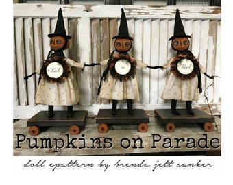 EPATTERN - Pumpkins on Parade
