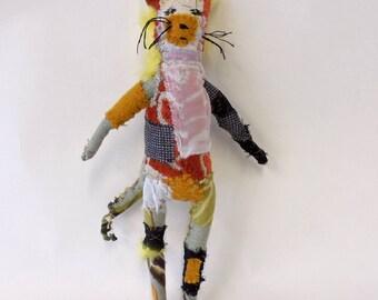 yellowish kitty cat textile animal
