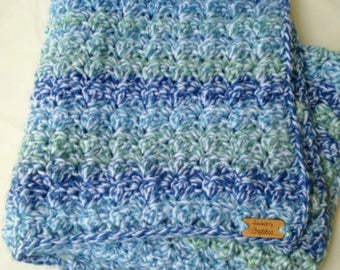 Crochet Chunky Baby Blanket - Chunky Baby Blanket - Chunky Blanket - Swaddle Blanket - Thick Blanket - Crib Blanket - Hospital Blanket