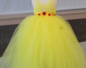 Dress Centerpiece   Belle Beauty and the Beast  princess dress centerpiece