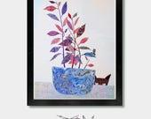 Katze entkernen. Unterschiedlichen Intentionen - Katze, Kunst, Katze Kunstwerk, Katzen, Katzenliebhaber, Katze Geschenk, Katze Drucke, schwarze Katze, Katze, Katzenspielzeug, Katze