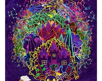 Her Universe - Art Print
