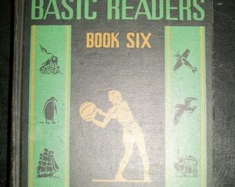 Vintage Elson Gray Basic Readers Book Six