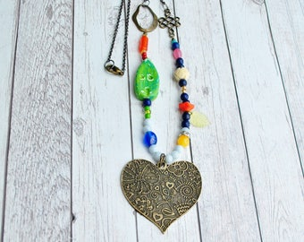 Home is Where the Heart is Necklace