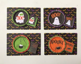 HALLOWEEN PARTY DECORATIONS - Choose 1/12 Dollhouse or 1:6 Playscale Miniature
