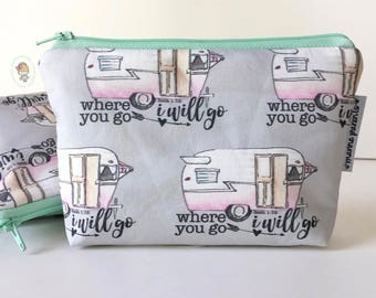 simple pouch -- where you go campers [#kateandaprilconspire]