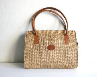 Woven Sisal Handbag