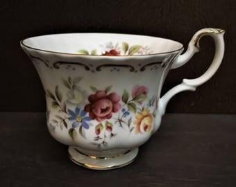 Royal Albert Jubilee Rose Orphan Teacup