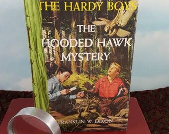 Hardy Boys Writing Journal from The Hooded Hawk Mystery Vintage Classic Teen Hardcover