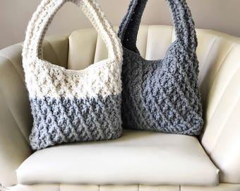 CROCHET PATTERN, The Kiara Bag, Crochet Bag Pattern, Crochet Pattern