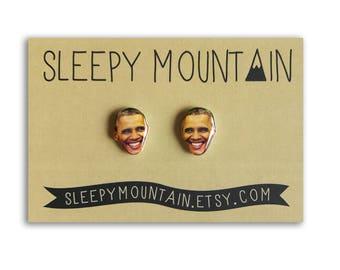 Barack Obama Earrings