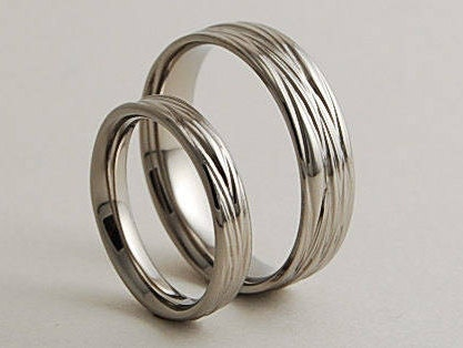 High Quality Wedding Bands, Titanium Rings, Titanium Wedding Ring Set, Titanium Wedding  Band Set, Promise Rings, The Sphinx Bands With Comfort Fit Good Ideas