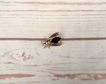 Vintage Insect Brooch - Vintage Enamel Brooch - Fly Brooch - 50s Vintage Brooch - German Vintage Brooch