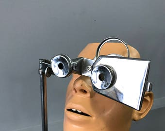 antique Eye Exam Device Vintage Medical Oddites Fathers Day Mid Century Modern