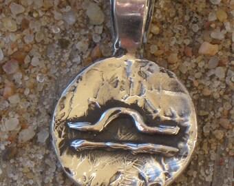 Libra Astrology Sterling Silver Pendant.Libra Zodiac Jewelry.Libra Charm.Libra Jewelry.Zodiac Charm
