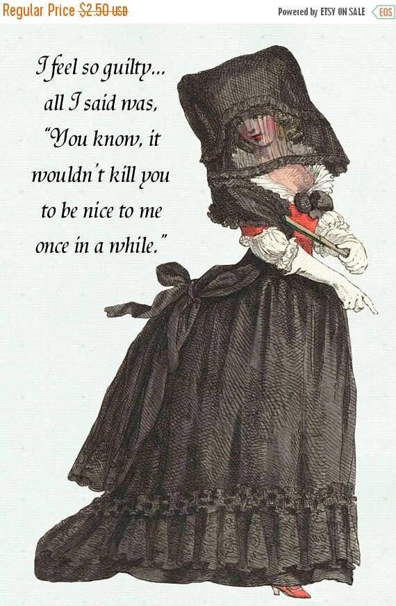 Marie Antoinette Postcard. Marie Antoinette. Marie Antoinette Card. Postcard. Card. Black. Red. Marriage. Husband. Wife. Death. Black Lace.