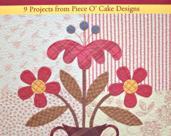 Contemporary Classics in Plaids and Stripes Quilting Book, by Piece O' Cake Designs