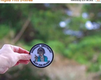 Back To School Sale Dorothy Zbornak Patch Free shipping (USA) Embroidered Patch Shady Pines iron on patches golden girls ® gift diversity ga