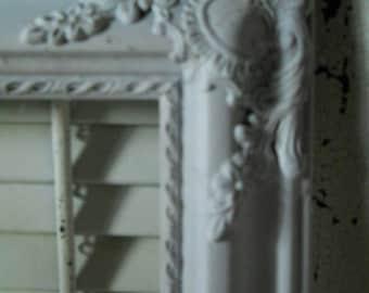 Shabby Chic Ornate Frame Vintage Baroque Frame Wedding Frame Open Display Frame