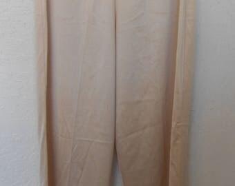 Pettipants Panty Panties Beige Knickers Vintage Bloomers Vanity Fair Size 5 Pajama Bottoms
