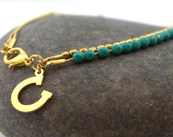 Good luck Bracelet, Friendship Bracelet, Charm Bracelet, Luck Bracelet, Boho Bracelet, Stacking Bracelet, Minimal Bracelet, Gold Bracelet