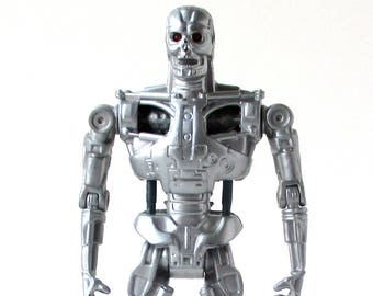 Terminator Figure, Schwarzenegger, Robot, 1991, T1000 Action Figure, I'll be back