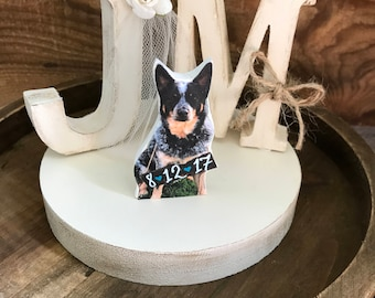 Rustic Dog Wedding Cake Topper / Pet Wedding Cake Topper / Cat Wedding Cake Topper / pet cake topper / i do cake topper /