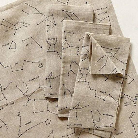 Constellation Linen Napkins